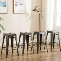 Modern Metal Dining Chairs 4pc (3001-30-MS)