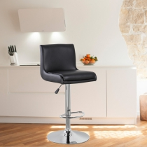 United Chair Height Adjustable Bar Stool (UOC-5070-BK)