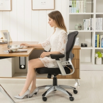 Adjustable Height Office Chair (8097-BK)