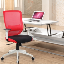 Mesh Ergonomic Office Chairs (8196-RED)