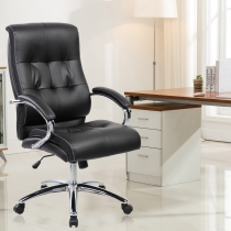 Hargraves Padded Ergonomic Executive Chair (9128H-BK)