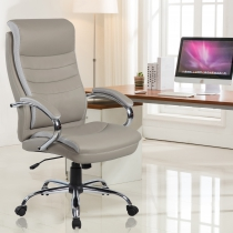 Faux Leather Office Chairs (9131-GR)