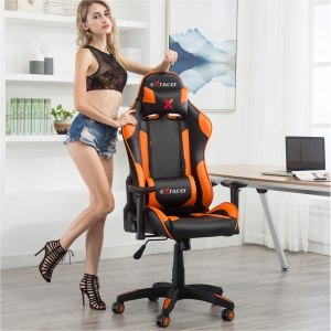 Adjustable Armrest Gaming Chair (7218-OR)