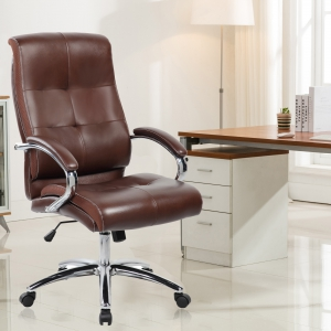 Hargraves Padded Ergonomic Executive Chair (9128H-BR)
