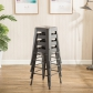 Modern Metal Dining Chairs 4pc (3001-MS)
