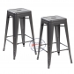 Modern Metal Dining Chairs 4pc (3001-MB)